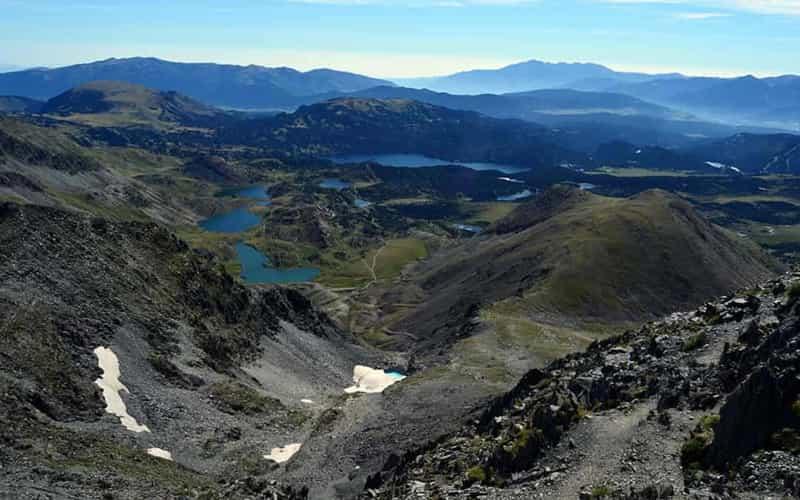 Panoramique depuis Carlit