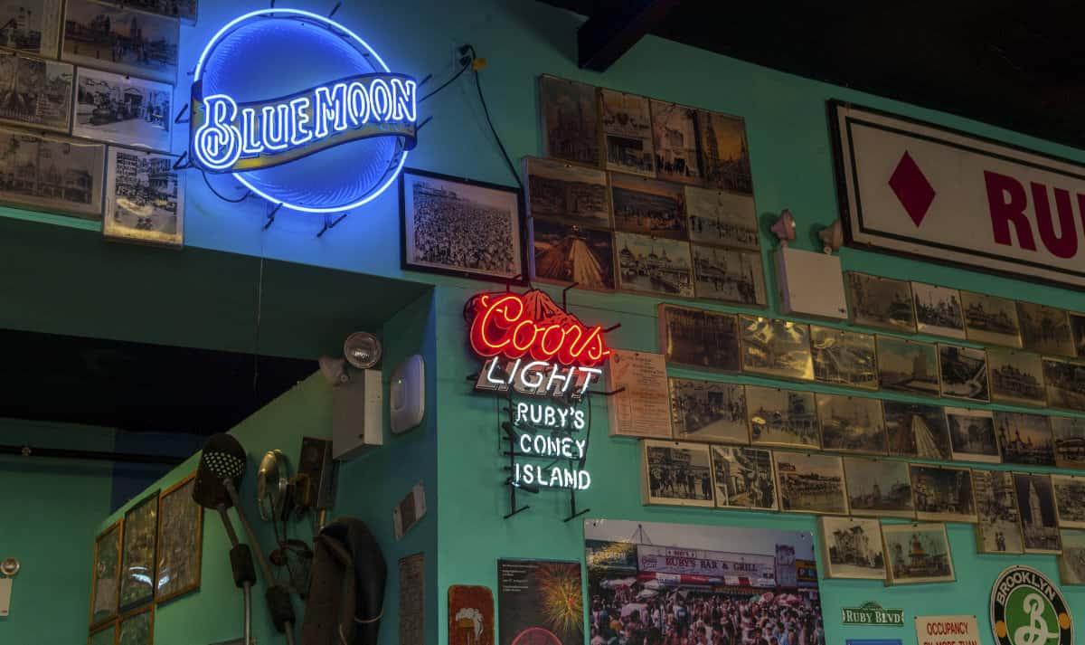 Coney Island Ruby inside