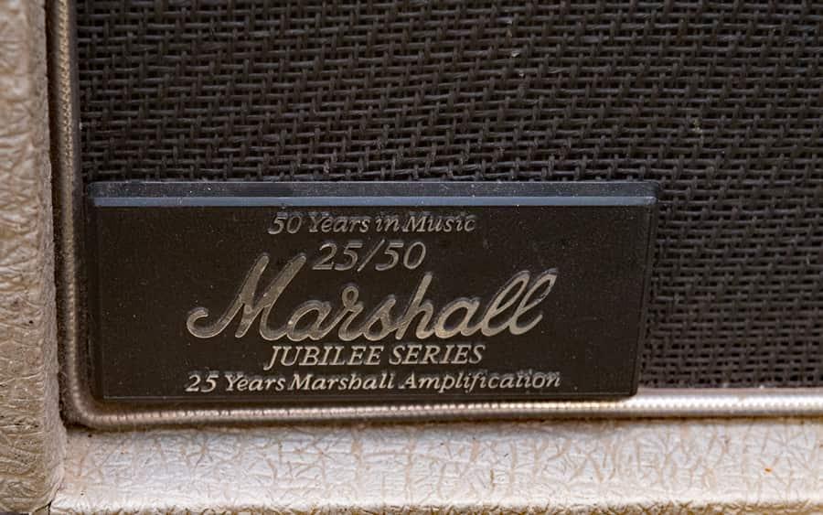 Marshall Jubilee 1987 logo 25e anniv web
