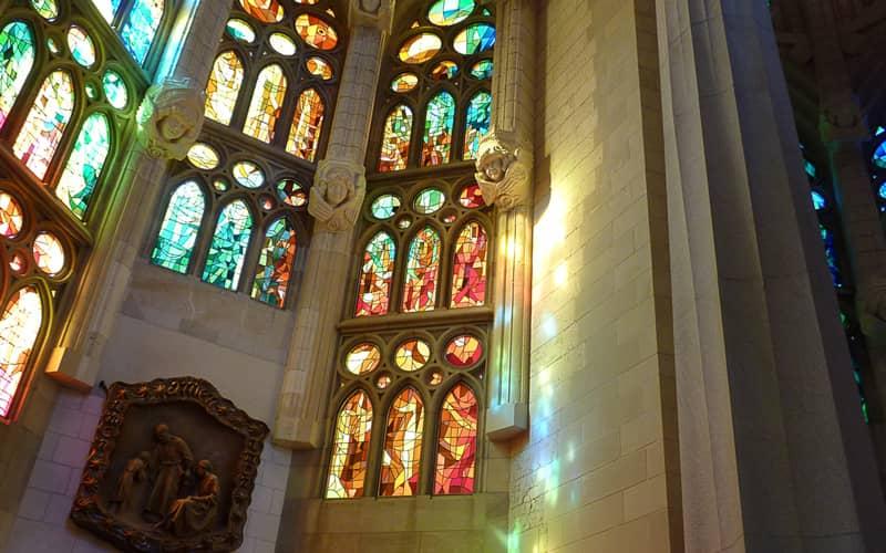 Vitraux de la Sagrada Familia