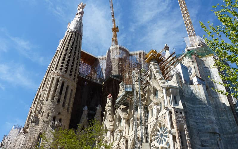 La basilique Sagrada Familia