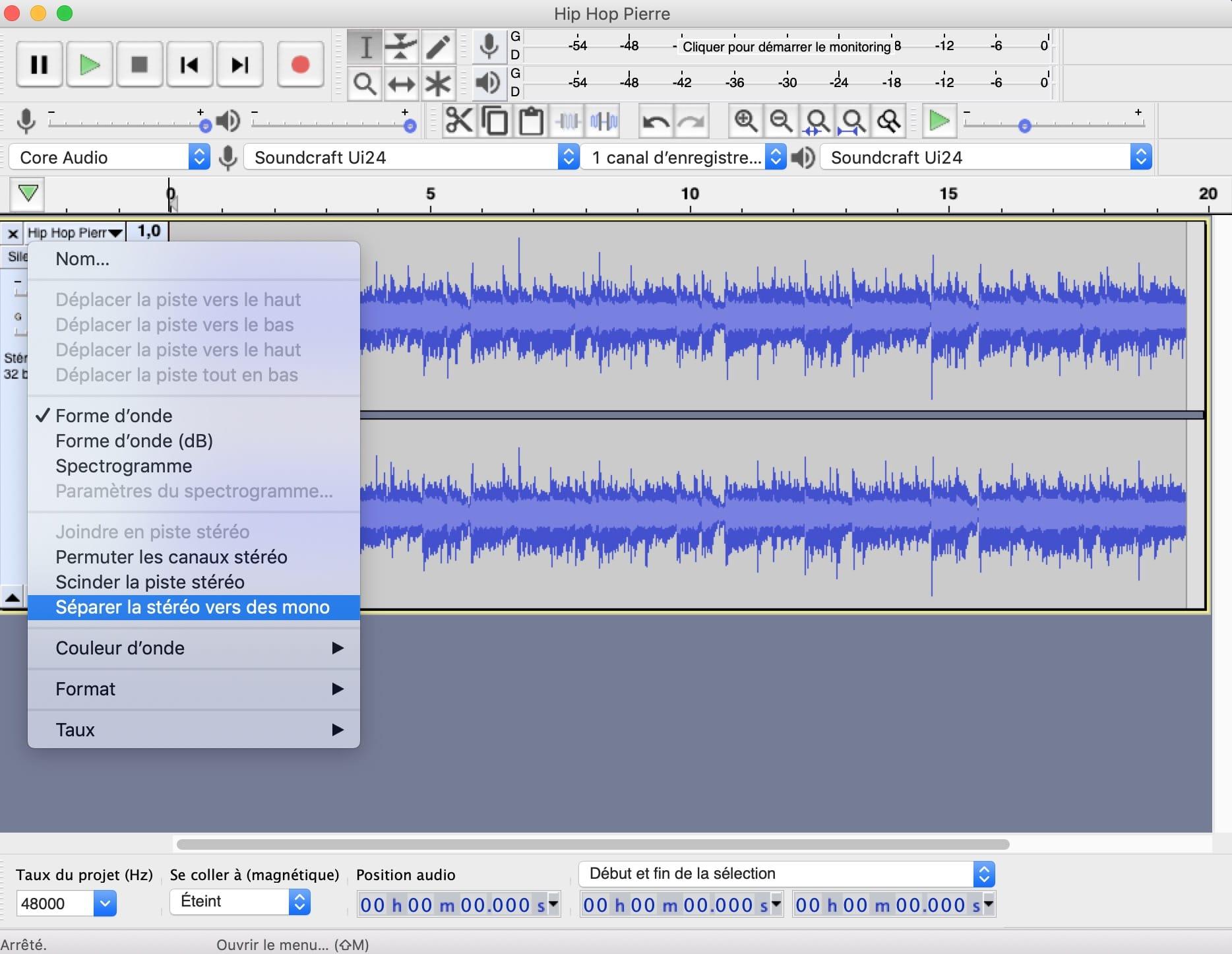 Audacity-separer-piste-stereo-en-deux-pistes-mono