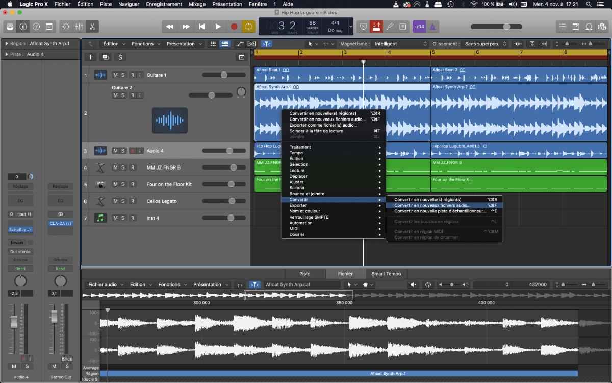 Logic-Pro-X-convertir-piste-stereo